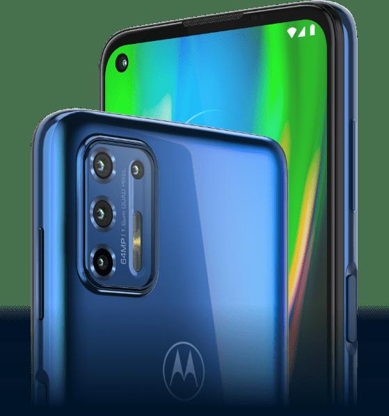 Moto G9 Plus cameras