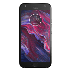 Motorola-Moto-X4-Preto-Frente