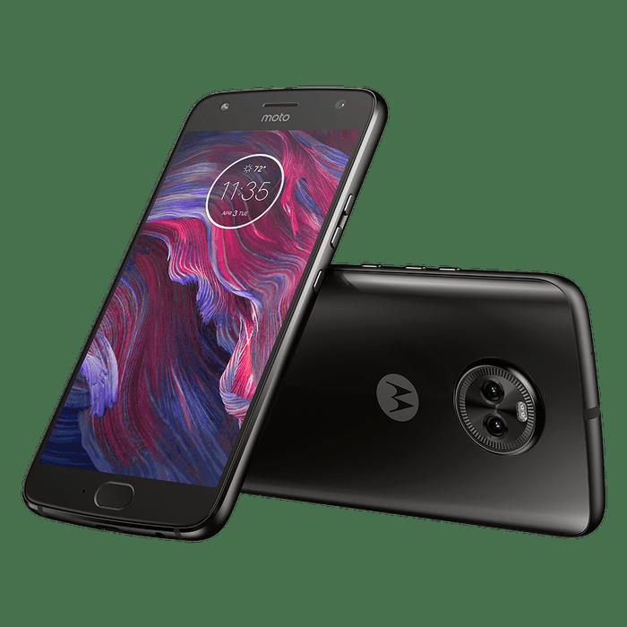Motorola-Moto-X4-Preto-Diagonal-Inclinada