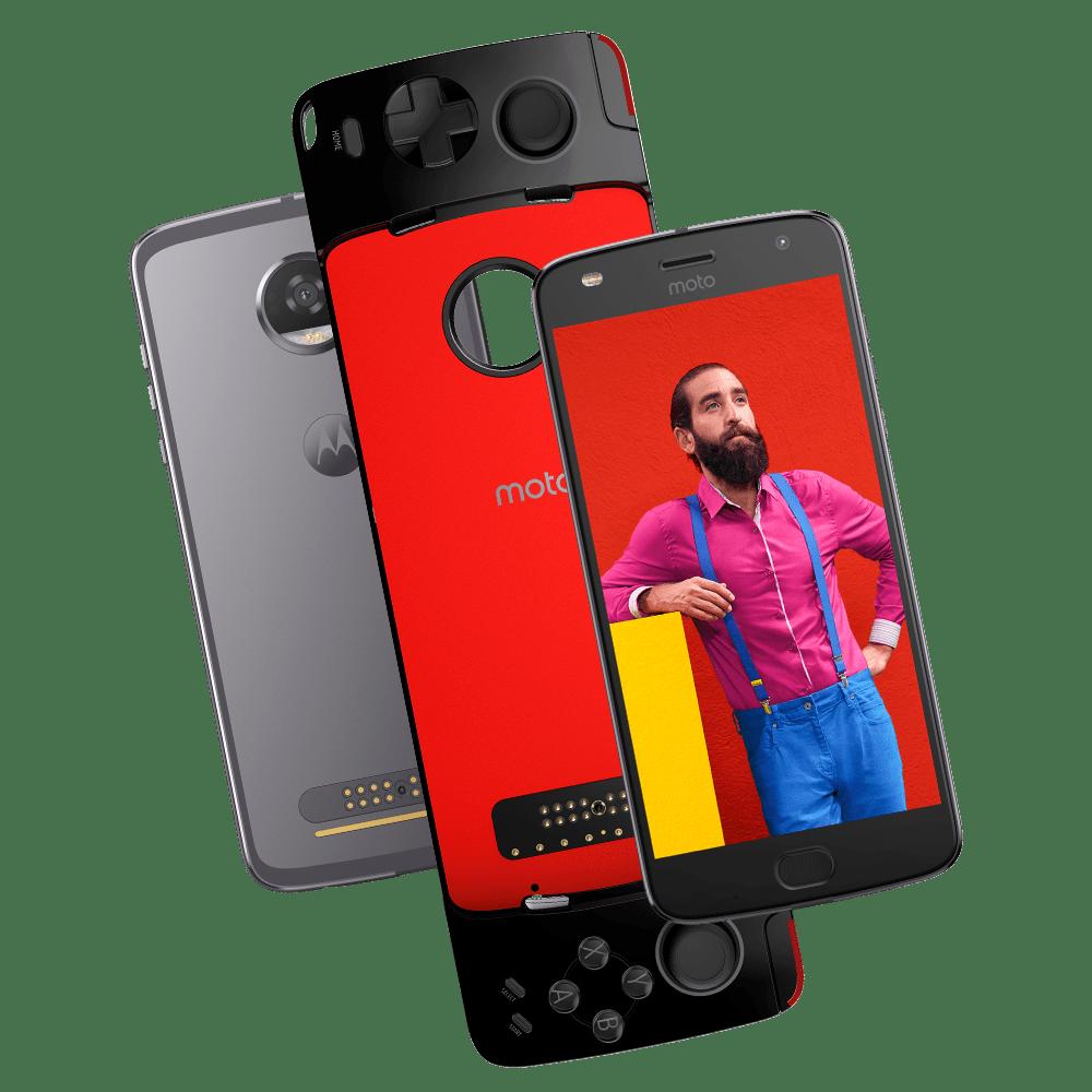 3788d38215686 Motorola  Smartphones  Familia Moto Z  Moto Z2 Play. z2-play-gamepad-01