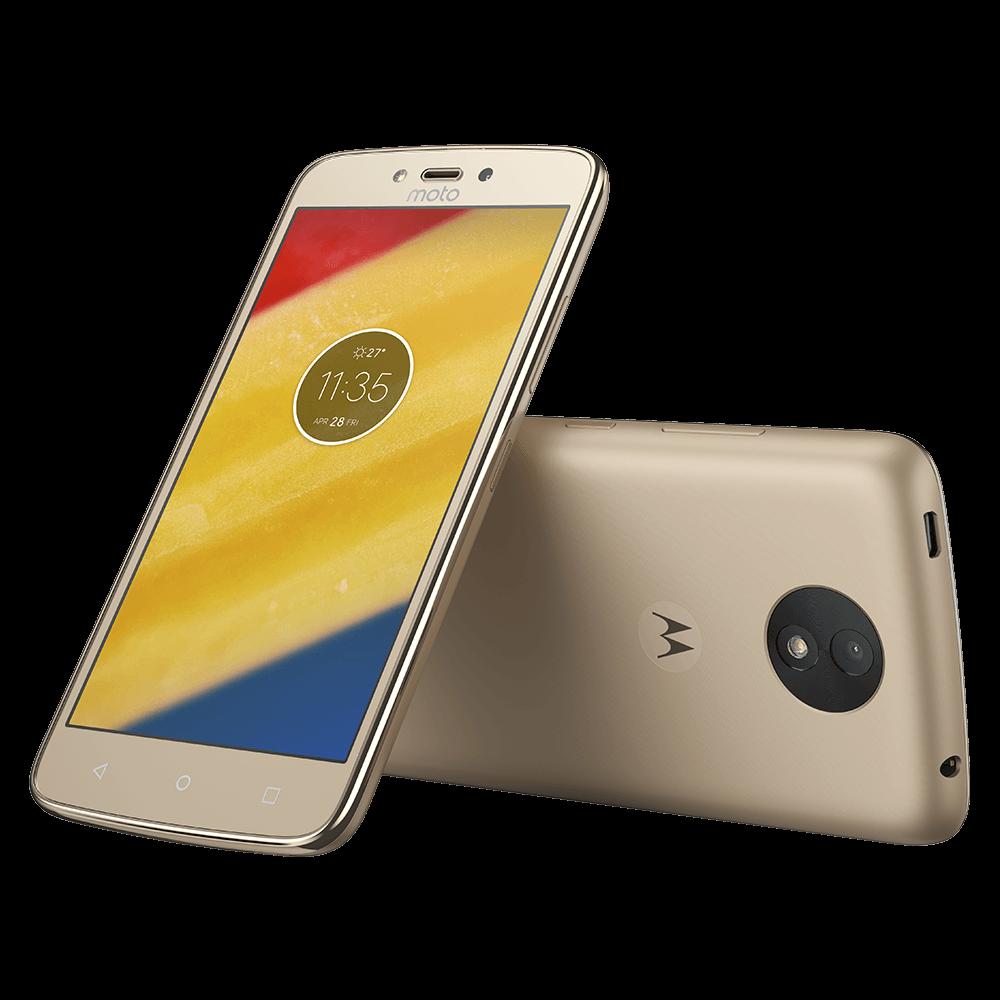 f94a94a85 Moto C Plus - 16GB - Ouro