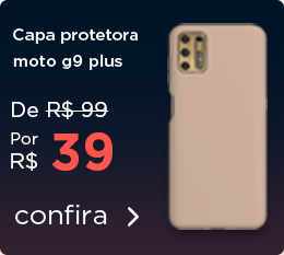 [ ON ] Capa protetora g9 plus - 13/11